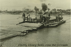 Imperial county -crossing the river